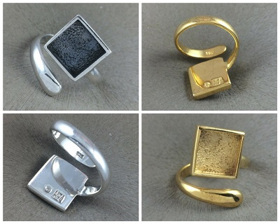 10mm Square Bezel